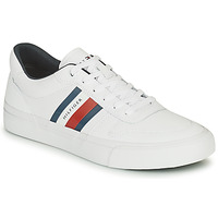 Scarpe Uomo Sneakers basse Tommy Hilfiger CORE CORPORATE STRIPES VULC Bianco