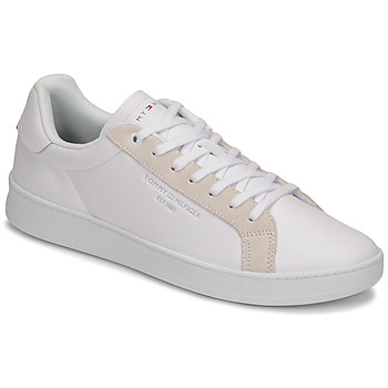 Scarpe Uomo Sneakers basse Tommy Hilfiger CUPSOLE COURT LEATHER Bianco