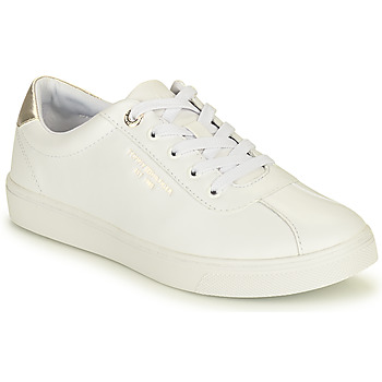 Scarpe Donna Sneakers basse Tommy Hilfiger COURT LEATHER SNEAKER Bianco