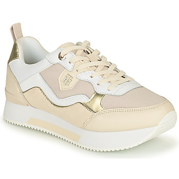 Scarpe Donna Sneakers basse Tommy Hilfiger MATERIAL MIX ACTIVE CITY SNEAKER Beige / Oro