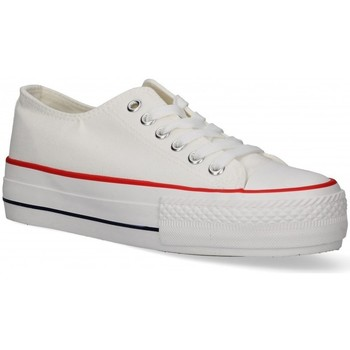 Scarpe Donna Sneakers basse Luna Collection 55260 Bianco