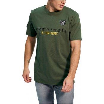 Abbigliamento Uomo T-shirt maniche corte Kaporal maniche corte TEFAR - Uomo verde