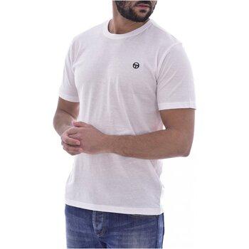 Abbigliamento Uomo T-shirt maniche corte Sergio Tacchini maniche corte 103.10007-SS T-SHIRT ICONIC - Uomo bianco