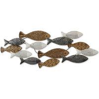 Casa Dipinti, tele Signes Grimalt Ornamento Da Parete Di Pesce Marrón