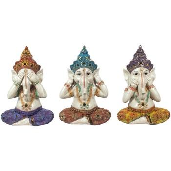Casa Statuette e figurine Signes Grimalt Ganesha 3 Set Unità Multicolor