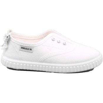 Scarpe Unisex bambino Slip on Shoeb76 2 - 3004NN5 Bianco