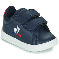 Scarpe Unisex bambino Sneakers basse Le Coq Sportif COURTSET INF Blu
