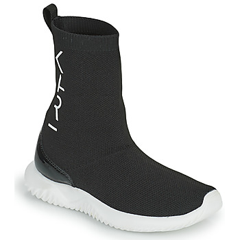 Scarpe Bambina Sneakers alte Karl Lagerfeld HEROS Nero