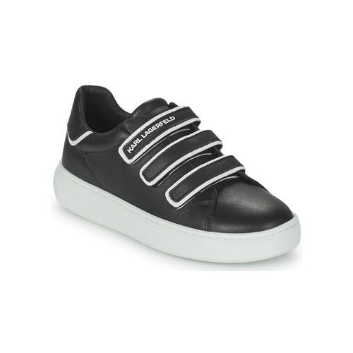 Scarpe Unisex bambino Sneakers basse Karl Lagerfeld GOLINDA Nero