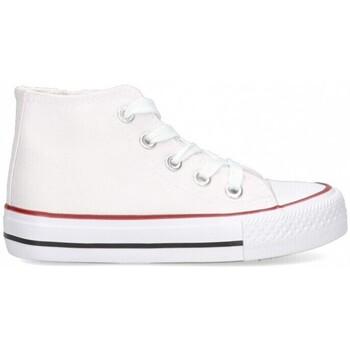 Scarpe Bambina Sneakers alte Luna Collection 56834 Bianco