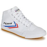 Scarpe Uomo Sneakers alte Feiyue FE LO 1920 MID Bianco / Blu / Rosso
