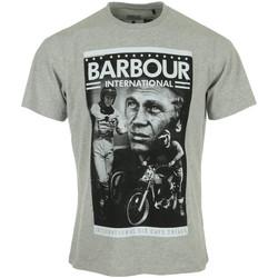 Abbigliamento Uomo T-shirt maniche corte Barbour Combo SMQ Tee Grigio