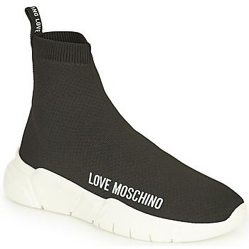 Scarpe Donna Sneakers alte Love Moschino JA15343G1D Nero