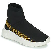 Scarpe Donna Sneakers alte Love Moschino JA15633G0D Nero