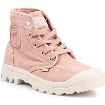 Scarpe Donna Sneakers alte Palladium Manufacture US Pampa HI Rosa