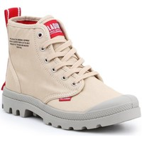 Scarpe Uomo Sneakers alte Palladium Manufacture Pampa HI Dare Beige