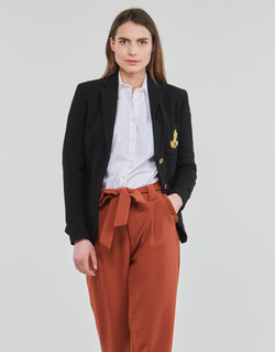 Abbigliamento Donna Giacche / Blazer Lauren Ralph Lauren ANFISA-LINED-JACKET Nero