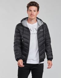 Abbigliamento Uomo Piumini Armani Exchange 8NZB53 Nero