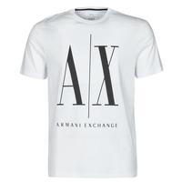 Abbigliamento Uomo T-shirt maniche corte Armani Exchange HULO Bianco
