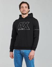 Abbigliamento Uomo Felpe Armani Exchange 6KZMFF Nero