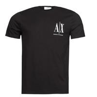 Abbigliamento Uomo T-shirt maniche corte Armani Exchange 8NZTPH Nero