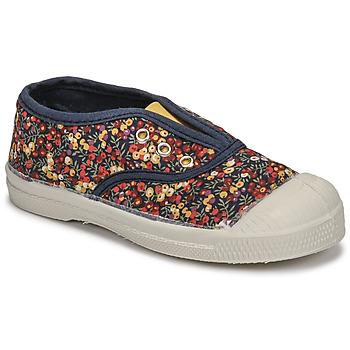 Scarpe Unisex bambino Sneakers basse Bensimon TENNIS ELLY LIBERTY ENFANT Multicolore