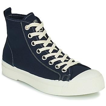 Scarpe Donna Sneakers alte Bensimon STELLA B79 Blu