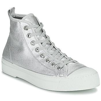 Scarpe Donna Sneakers basse Bensimon STELLA B79 SHINY CANVAS Argento