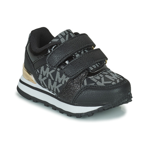 Scarpe Bambina Sneakers basse MICHAEL Michael Kors BILLIE JOGGER H&L Nero / Oro