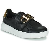 Scarpe Bambina Sneakers basse MICHAEL Michael Kors JEM MK Nero / Oro