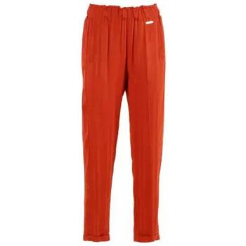Abbigliamento Donna Chino Café Noir CafèNoir Pantalone Mandarino Arancio