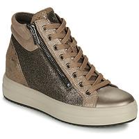Scarpe Donna Sneakers alte IgI&CO DONNA SHIRLEY Beige / Oro