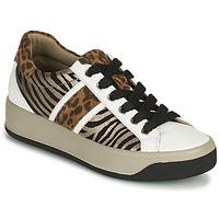 Scarpe Donna Sneakers basse IgI&CO DONNA AVA Bianco / Marrone