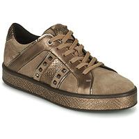 Scarpe Donna Sneakers basse Geox LEELU Marrone / Oro