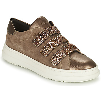 Scarpe Donna Sneakers basse Geox PONTOISE Oro / Taupe