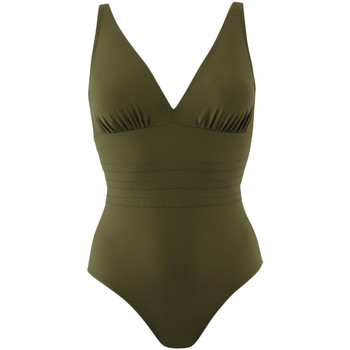 Abbigliamento Donna Costume intero Janine Robin 991015-25 Verde