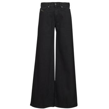 Abbigliamento Donna Jeans bootcut Diesel D-AKEMI Nero