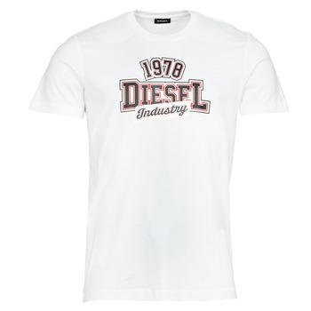 Abbigliamento Uomo T-shirt maniche corte Diesel T-DIEGOS-K26 Bianco