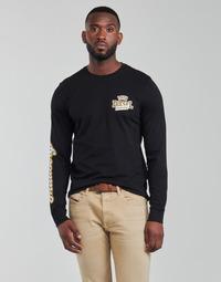 Abbigliamento Uomo T-shirts a maniche lunghe Diesel T-DIEGOS-LS-K27 Nero