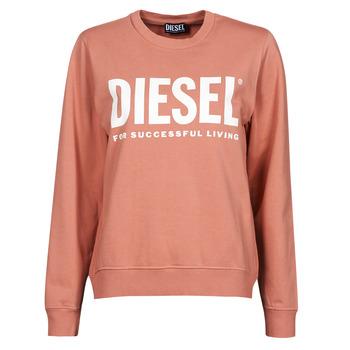 Abbigliamento Donna Felpe Diesel F-ANGS-ECOLOGO Rosa