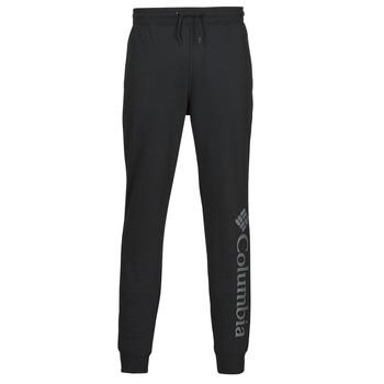 Abbigliamento Uomo Pantaloni da tuta Columbia M CSC LOGO FLEECE JOGGER II Nero / Grigio