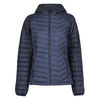 Abbigliamento Donna Piumini Columbia POWDER LITE HOODED JACKET Marine / Nero