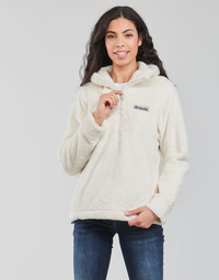 Abbigliamento Donna Felpe in pile Columbia BUNDLE UP HOODED PULLOVER Bianco