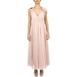 Abbigliamento Donna Abiti lunghi Anna Molinari 24135-0185 Rosa