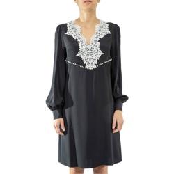Abbigliamento Donna Abiti corti Anna Molinari 24225-0239 Nero