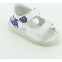 Scarpe Unisex bambino Sandali Falcotto BLAVET sandalo aperto Bianco