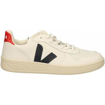 Scarpe Uomo Sneakers Veja V-10 bianco-blu