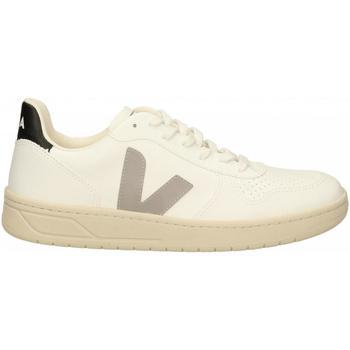 Scarpe Uomo Sneakers Veja V-10 bianco-grigio