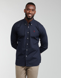 Abbigliamento Uomo Camicie maniche lunghe U.S Polo Assn. DIRK 51371 EH03 Marine