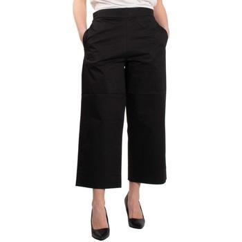 Abbigliamento Donna Pantaloni morbidi / Pantaloni alla zuava Alpha Studio AD-5950Q-2191 Nero